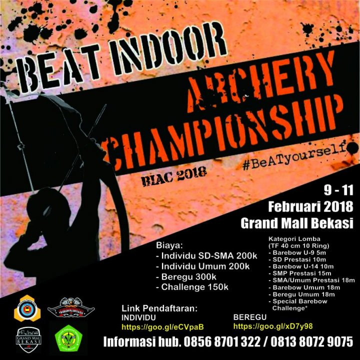BeAT Indoor Archery Championship 2018 (BIAC)